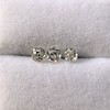 1.54ctw Antique Cushion Cut 3-stone Suite 5