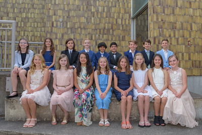 Fifth Grade Promotion Ceremony