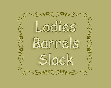 Ladies Barrel Racing Slack
