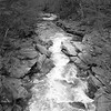 The Lackawanna River _ bw
