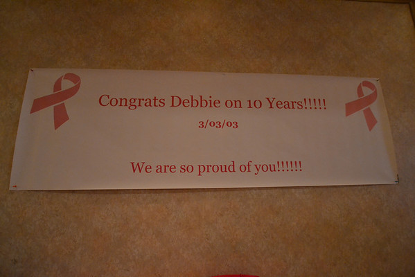 Debbie's 10th Year Remission