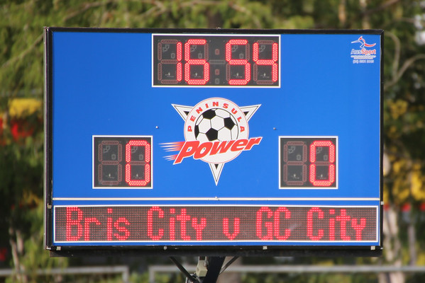 GC City V Brisbane City Macron Cup 4-2-17