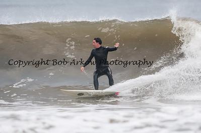Surfing Long Beach 9-9-12