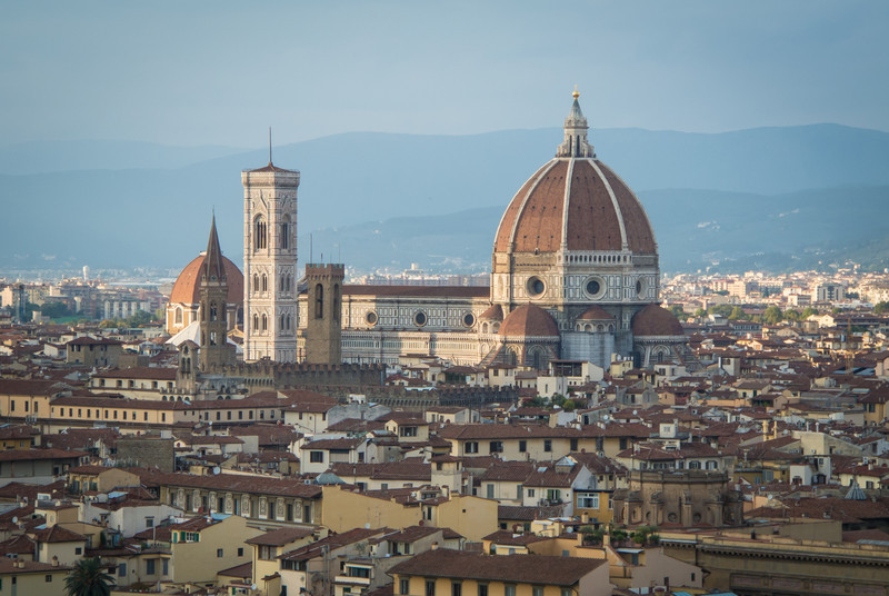 Duomo is highest structure in Florence