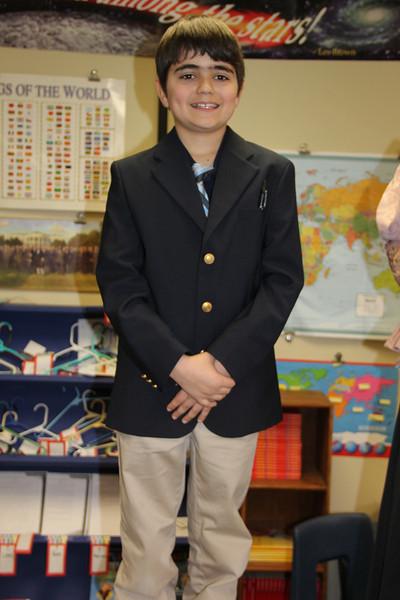 Wax Museum, West Penn Elementary School, West Penn (3-22-2013)