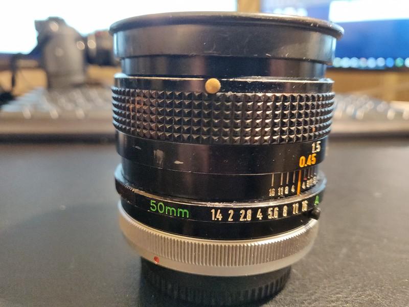 Canon FD 50 mm 1.4 S.S.C. - Serial Q1213 & 896737 001.jpg