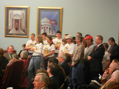 Bomb Squad with Senate Education Committee 2011