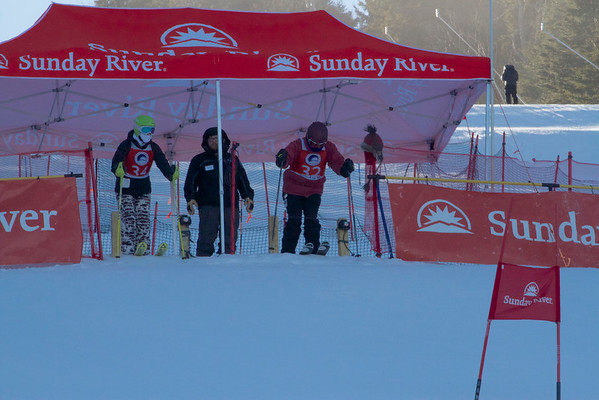 Locke Mountain Ski Race 2014