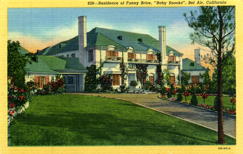 Residence of Fanny Brice