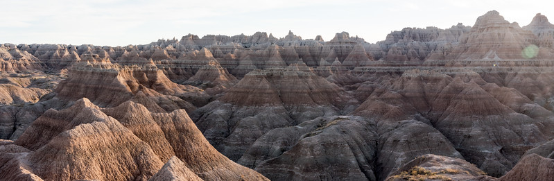door Trail In the Badlands National Park