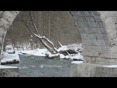 Winter Time Look of Five Arch Bridge