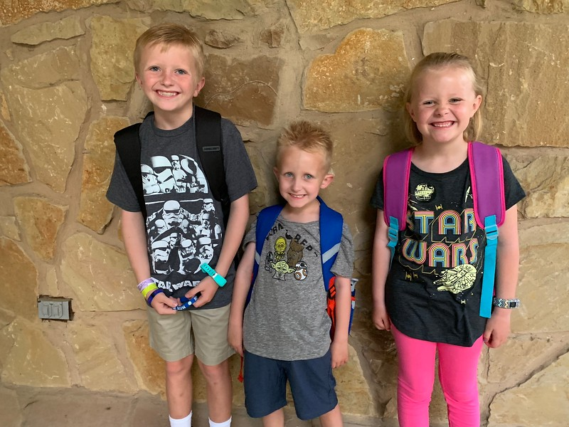 Cody, Zoey and Evan | Kindergarten, 1st grade and 3rd grade | Deer Creek Elementary