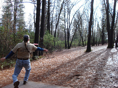 Disc Golf - Condon Park 12-27-2010