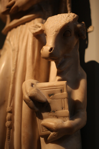 At the Metropolitan Museum of Art. Three Pilasters