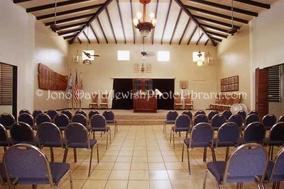 ST. CROIX (US Virgin Islands), Christiansted. Congregation B'nei Or. (2007)