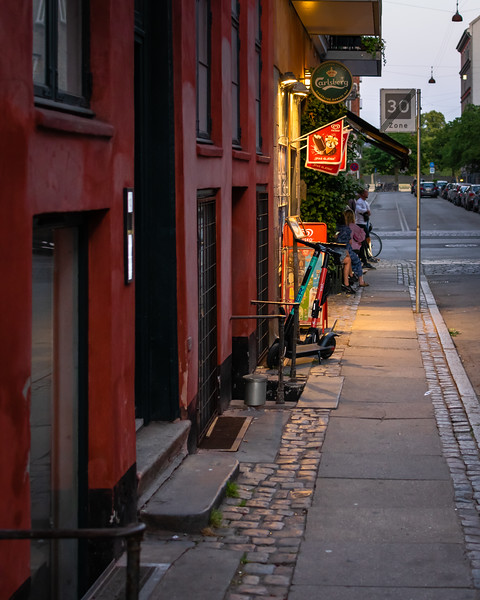 Evening cafe, Copenhagen