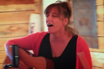 Lynn Blakey and Ecki Heins at Saxapahaw, NC May 30, 2015
