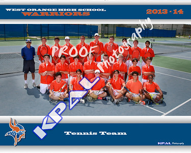 West Orange Tennis Team