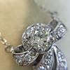 .82ctw Edwardian Bow Motif Diamond Pendant 11