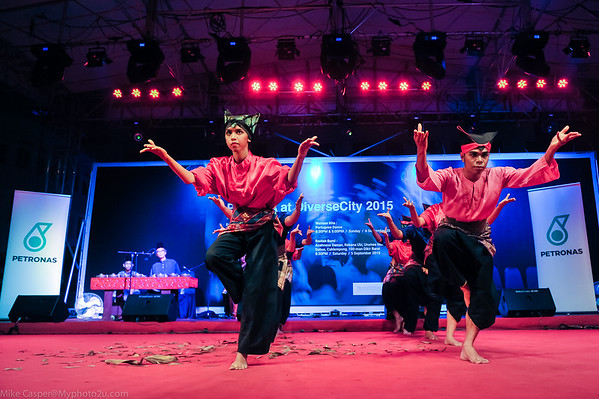 PUSAKA at DiverseCity 2015 | Pentas Petronas | Randai Berkaba