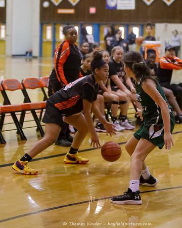 Girls JV Basketbal Scrimmage 11/23/19