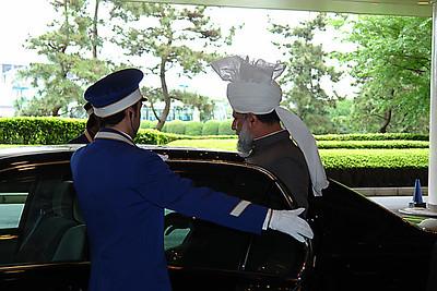 Reception in Tokyo