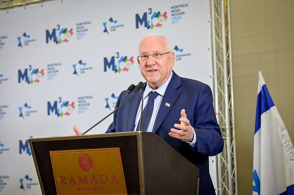 May 14, 2017 - President of Israel