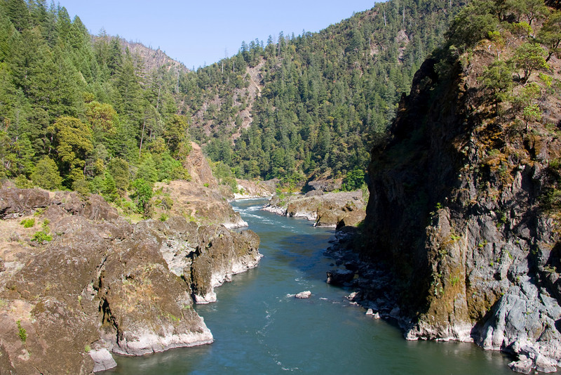 The Rogue River Trail offers spectacular views between Paradise and Blossom Bar.