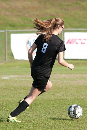 March 14, 2019 - JV Girls Soccer vs Griffin