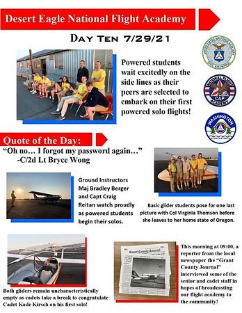 Desert Eagle Flight Academy Day 10