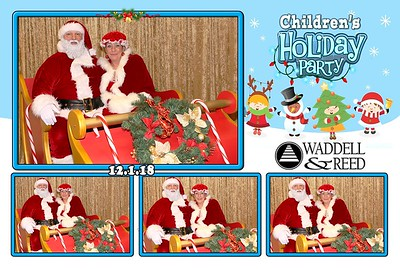 Waddell & Reed 2018 Childrens Holiday Party
