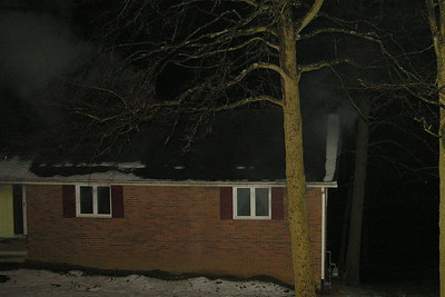 02-15-12 Coshocton FD House Fire