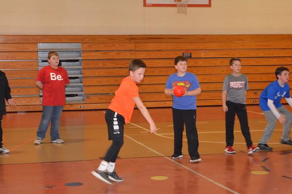 LT 4th grade after school Dodge ball