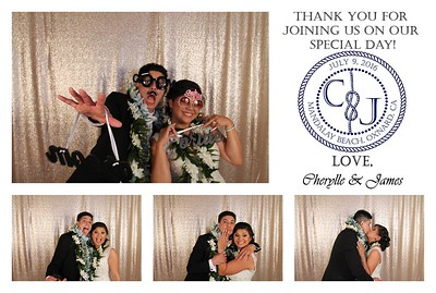Cherylle & James' Photo Booth
