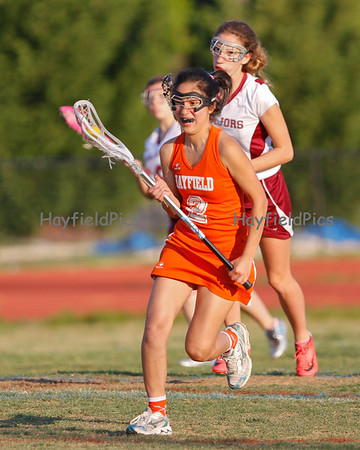 Lacrosse Girls JV Mount Vernon 4/19/12