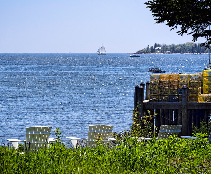 What a View!  Boothbay Harbor, Maine (33169)