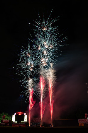 August 17 - Fireworks