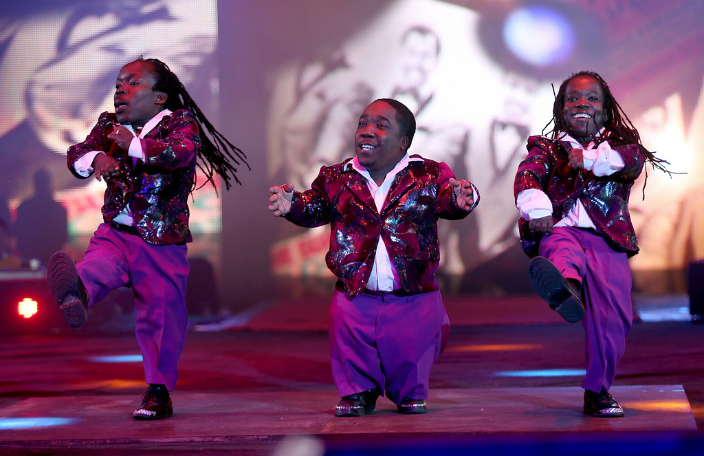 . Dancers do a Motown routine as the UniverSoul Circus performs under the big top on Hegenberger Road in Oakland, Calif., on Friday, April 5, 2013.  (Jane Tyska/Staff)