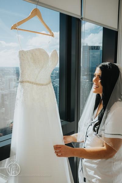 Bridal Prep at Brisbane Skytower