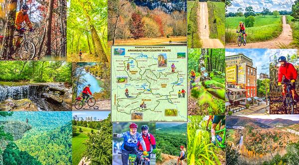 Postcard -- Arkansas High Country Route