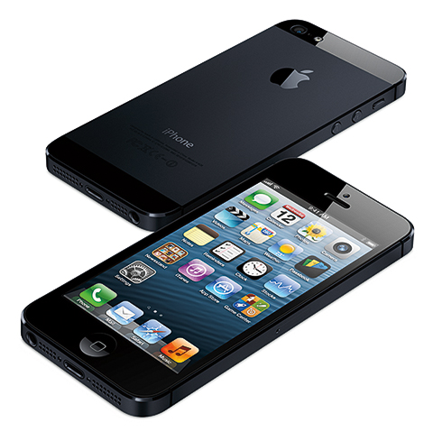 iPhone 5, photo courtesy of Apple Inc.