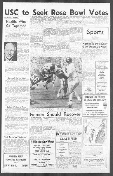 Daily Trojan, Vol. 56, No. 35, November 06, 1964