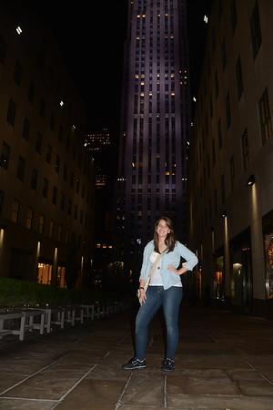 Andreina Rejon's trip to NYC
