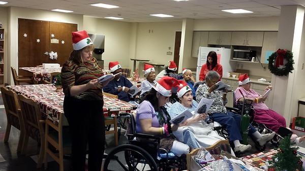 GOYA Christmas Caroling - December 23, 2013
