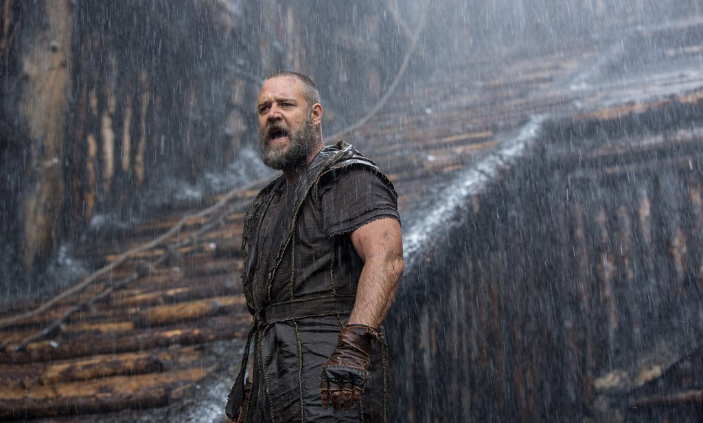 ". <p>7. (tie) �NOAH� <p>The fact that this Noah does no singing is proof of a kind and merciful God. (9) <p><b><a href=\'http://www.twincities.com/movies/ci_25427753/noahs-ark-review-world-is-broken-and-god\' target=""_blank\""> HUH?</a></b> <p>    (AP Photo/Paramount Pictures, Niko Tavernise)"