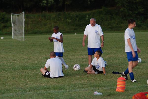 Soccer Practice, August 22