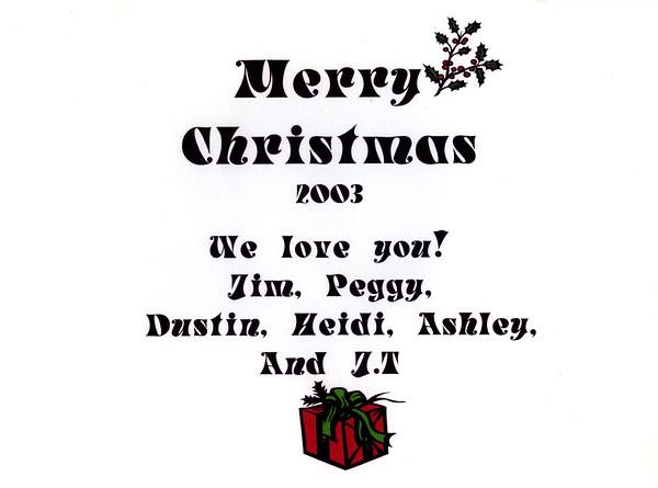 2003 Album Gift