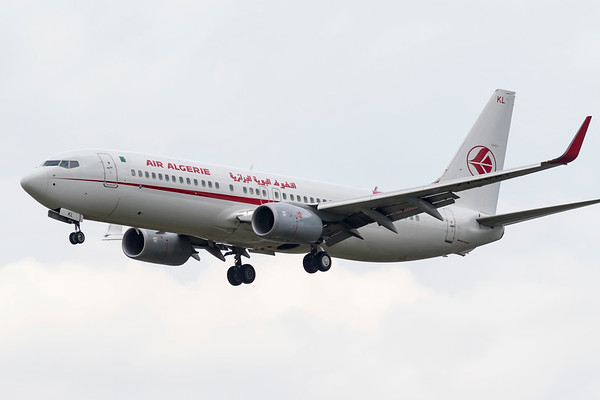 7T-VKL - Boeing 737-8D6
