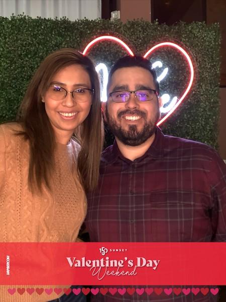150 Sunset Valentines Day