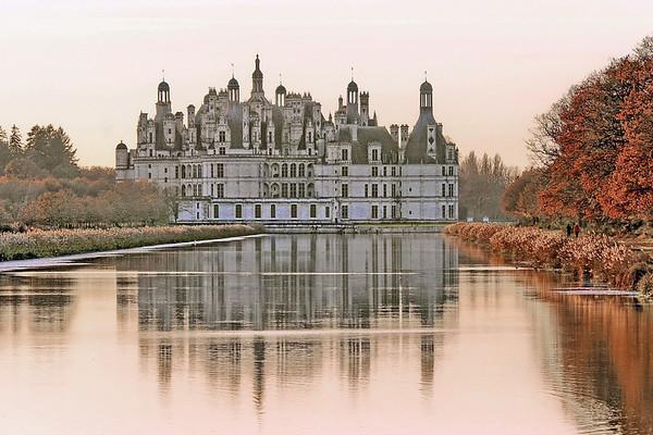 Chateau de Chambord - Exterieur Automne